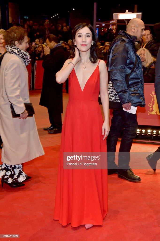 Sibel Kekilli attends the 'Django' premiere during the 67th Berlinale International Film Festival Berlin at Berlinale Palace on February 9, 2017 in Berlin, Germany.