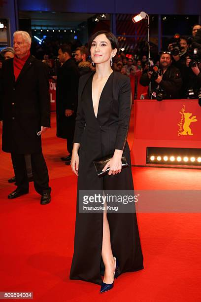 Sibel Kekilli attends the 'Hail Caesar' premiere during the 66th Berlinale International Film Festival Berlin at Berlinale Palace on February 11 2016...