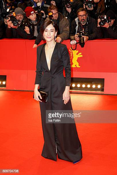 Sibel Kekilli attends the 'Hail Caesar' Premiere during the 66th Berlinale International Film Festival on February 11 2016 in Berlin Germany