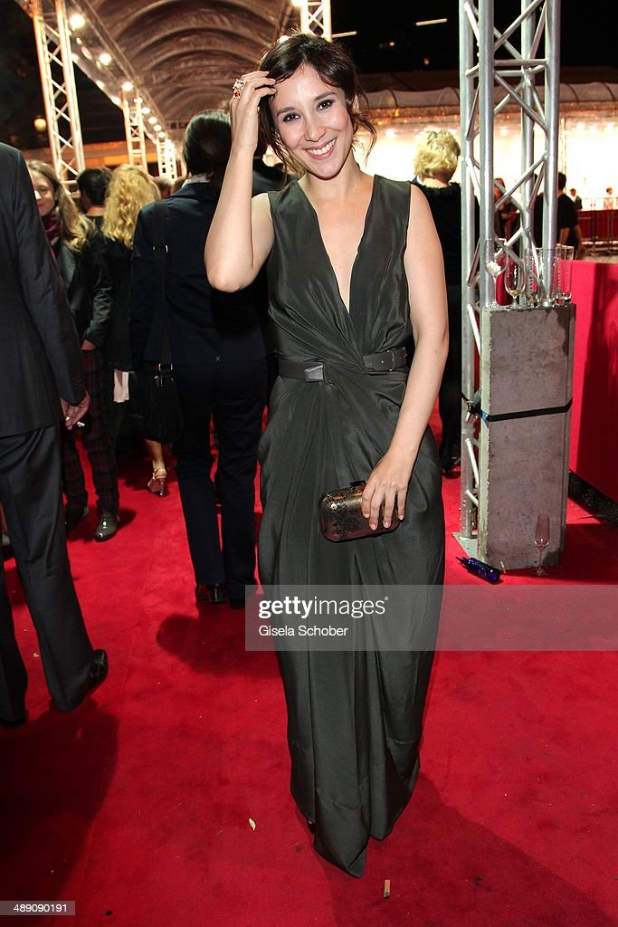 Sibel Kekilli attends the Lola - German Film Award 2014 - After party at Tempodrom on May 9, 2014 in Berlin, Germany