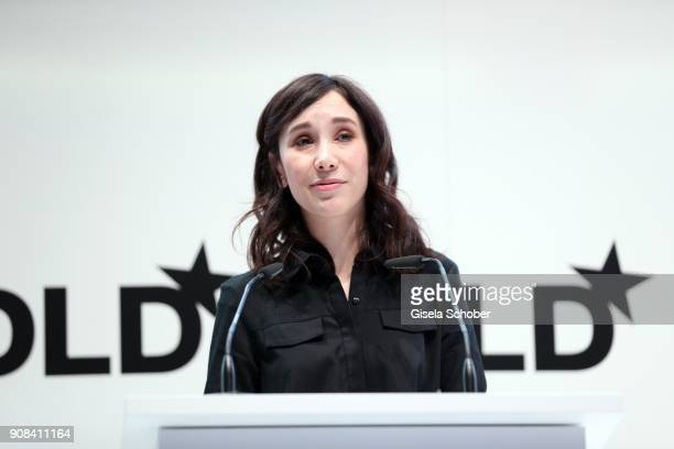 Sibel Kekilli during he DLD Impact Award by DLD Munich 2018 at Alte Bayerische Staatsbank on January 21 2018 in Munich Germany The DLD Impact Award...