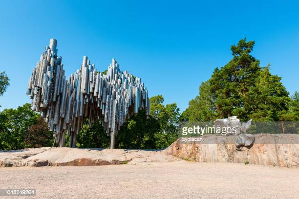 Sibelius Monument at the Sibelius Park in Helsinki