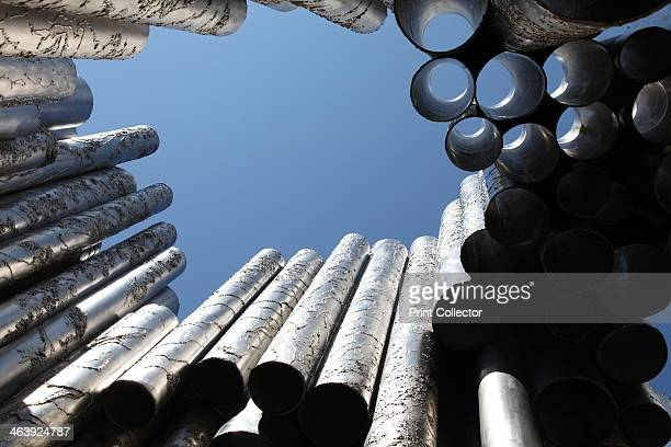 Sibelius Monument Sibelius Park Helsinki Finland 2011 Made from stainless steel this monument to Jean Sibelius Finland's greatest composer was...