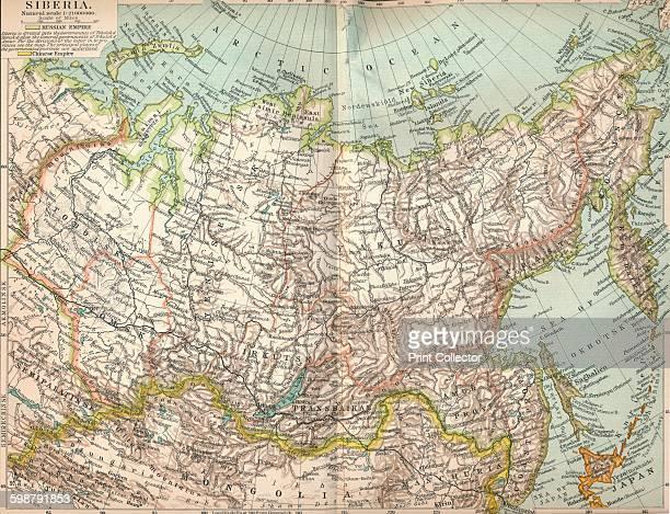 Siberia circa 1903 From The Worlds History Volume II by Dr H F Helmolt [William Heinemann London 1904] Artist Unknown