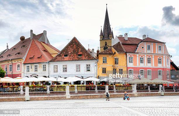 sibiu - sibiu stock photos and pictures
