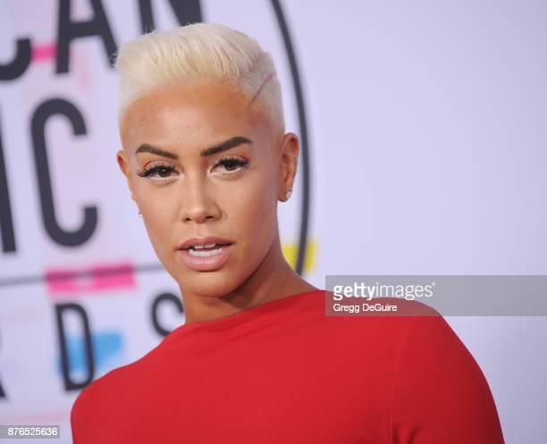 Sibley Scoles arrives at the 2017 American Music Awards at Microsoft Theater on November 19 2017 in Los Angeles California