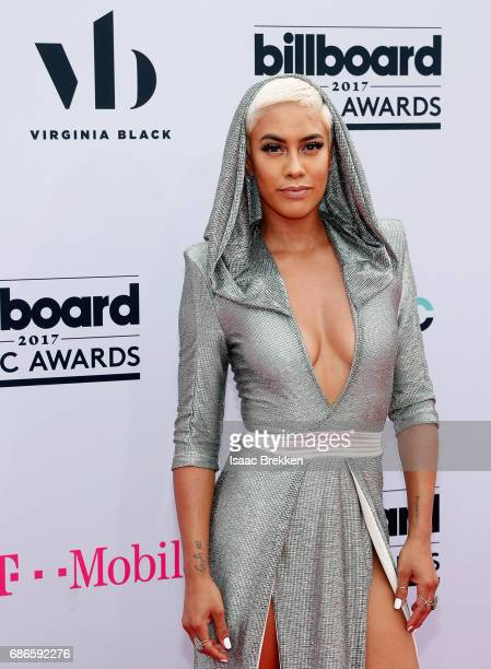 Sibley Scoles arrives at the 2017 Billboard Music Awards presented by Virginia Black at TMobile Arena on May 21 2017 in Las Vegas Nevada