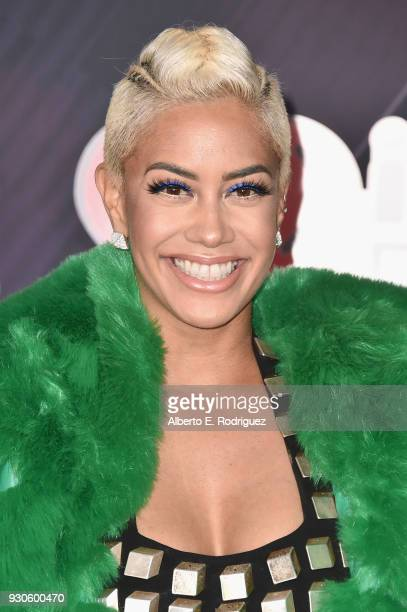 Sibley Scoles arrives at the 2018 iHeartRadio Music Awards which broadcasted live on TBS TNT and truTV at The Forum on March 11 2018 in Inglewood...