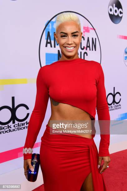 Sibley Scoles attends the 2017 American Music Awards at Microsoft Theater on November 19 2017 in Los Angeles California
