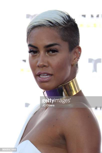 Sibley Scoles attends The 2017 Latin American Music Awards at Dolby Theatre on October 26 2017 in Hollywood California