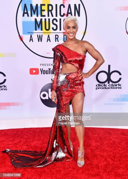 Sibley Scoles attends the 2018 American Music Awards at Microsoft Theater on October 9 2018 in Los Angeles California