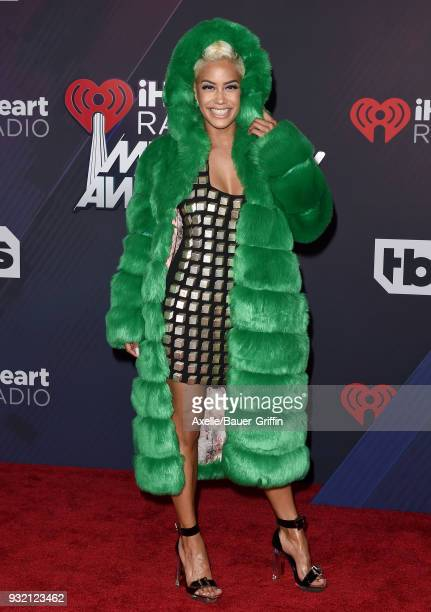 Sibley Scoles attends the 2018 iHeartRadio Music Awards at the Forum on March 11 2018 in Inglewood California