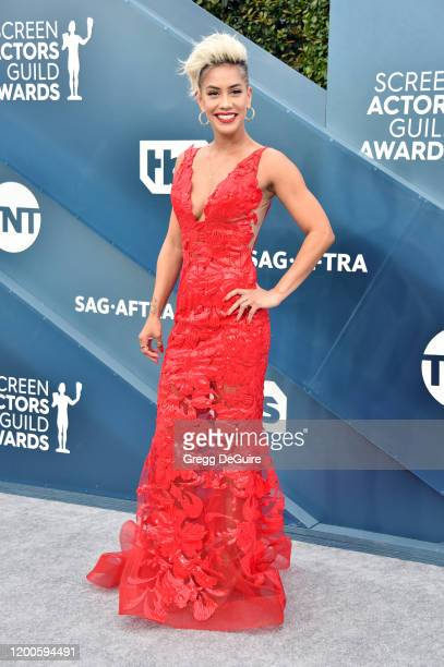 Sibley Scoles attends the 26th Annual Screen ActorsGuild Awards at The Shrine Auditorium on January 19, 2020 in Los Angeles, California. 721430