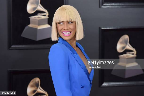 Sibley Scoles attends the 60th Annual GRAMMY Awards Arrivals at Madison Square Garden on January 28 2018 in New York City