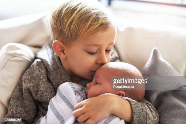 sibling love - brother stock pictures, royalty-free photos & images
