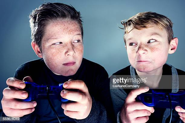 sibling rivalry - rivalry stock pictures, royalty-free photos & images