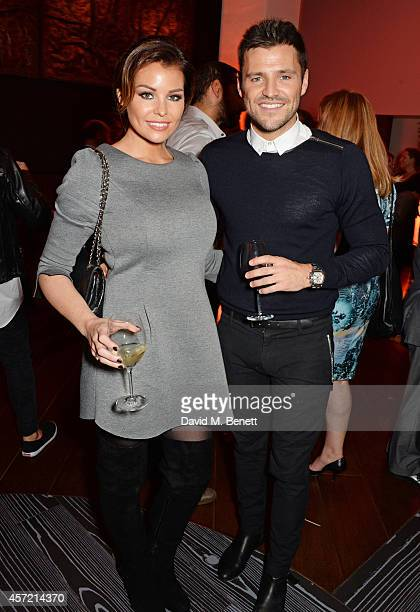 Siblings Jessica Wright and Mark Wright attend a party hosted by Jonathan Shalit to celebrate his OBE at Avenue on October 14 2014 in London England