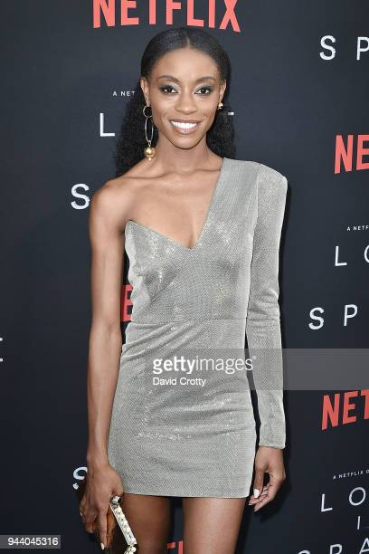 Sibongile Mlambo attends the 'Lost In Space' Season 1 Premiere at ArcLight Cinerama Dome on April 9 2018 in Hollywood California