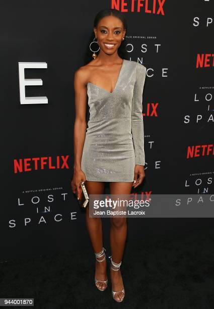 Sibongile Mlambo attends the premiere of Netflix's 'Lost In Space' Season 1 on April 9 2018 in Los Angeles California
