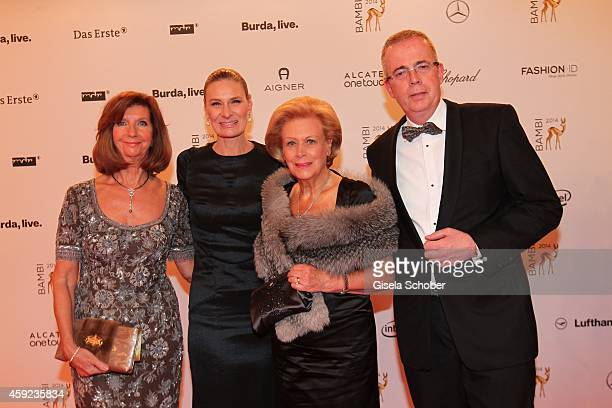 Sibylle Schoen and Evi Brandl during the Bambi Awards 2014 on November 13 2014 in Berlin Germany