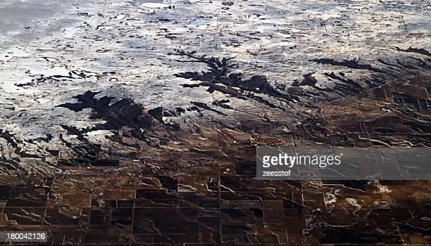 sica hollow & lake city, south dakota - zeesstof stock pictures, royalty-free photos & images