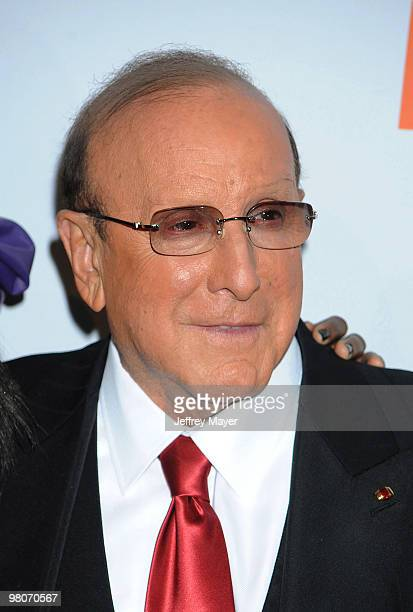 SiCEO of Sony Music Entertainment Worldwide Clive Davis arrives at the 2010 PreGrammy Gala Salute To Industry Icons at Beverly Hills Hilton on...