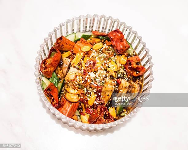 Sichuan Chicken in Chili Oil