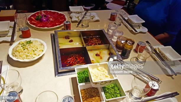 Sichuan hot pot, Chengdu