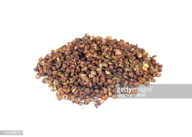 sichuan pepper (chinese pepper) - sichuan province stock pictures, royalty-free photos & images