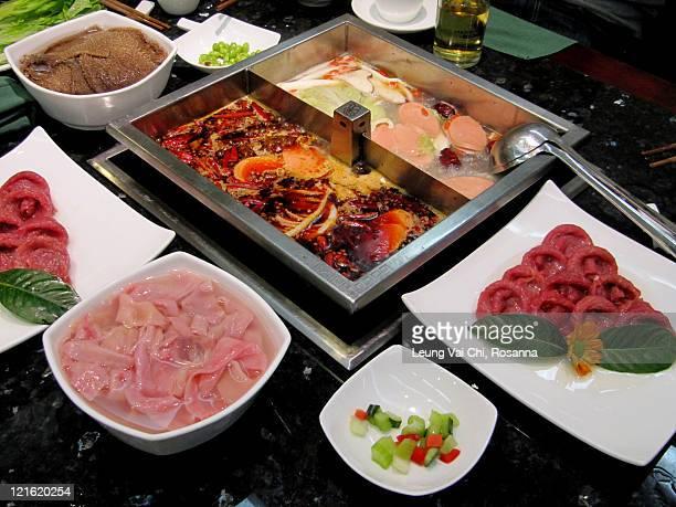 Sichuan spicy hot pot