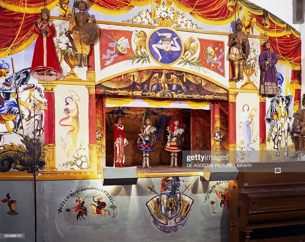 Sicilian Puppet Theatre... : News Photo