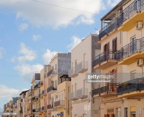 Sicilian urban skyline