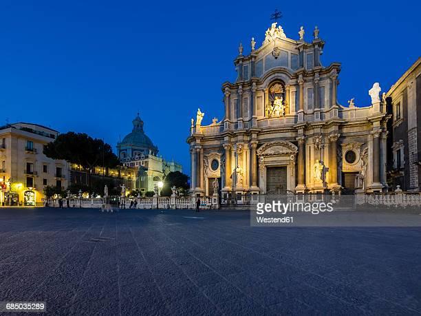 Sicily, Catania, SantAgata Cathedral and Poazza del Duomo