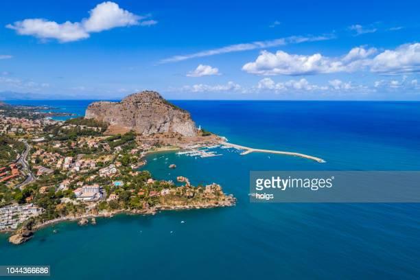 シチリア島チェファル, イタリア, ヨーロッパ - シチリア ストックフォトと画像