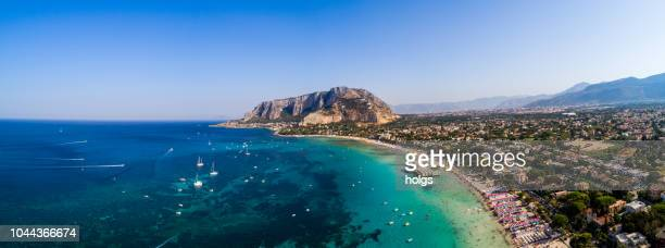 sicily island in palermo, italy, europe - palermo sicily stock photos and pictures