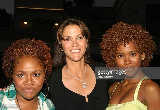 Sicily Sewell Jami Gertz Regine Nehy during Lifetime Television's 'Fighting the Odds' Screening in Los Angeles California United States