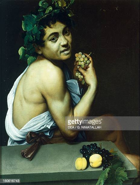Sick Bacchus 15931594 by Michelangelo Merisi known as Caravaggio oil on canvas 67x53 cm