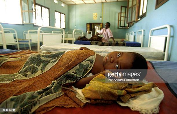 A sick child lies in a hospital April 12 1996 in Kikwit a rural village in the Democratic Republic of Congo Kikwit was at the epicenter of an Ebola...