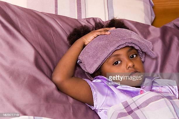 Sick Preschooler in bed