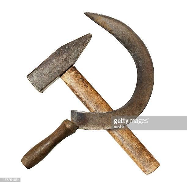 鎌&hammer - 旧ソ連 ストックフォトと画像
