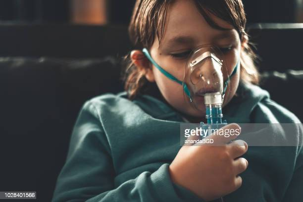 sickness - copd stock photos and pictures