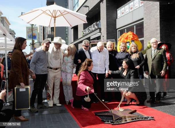 Sid And Marty Krofft Are Honored With A Star On The Hollywood Walk Of Fame on February 13 2020 in Hollywood California