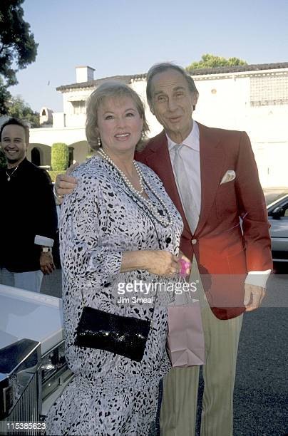 Sid Caesar and wife during Renee Taylor and Joseph Bologna Celebrate Their 25th Anniversary at Home of Renee Taylor and Joseph Bologna in Beverly...