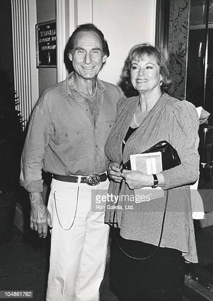 Sid Caesar and Wife during Sid Caesar at the Wyndham Hotel in New York City at Wyndham Hotel in New York City New York United States