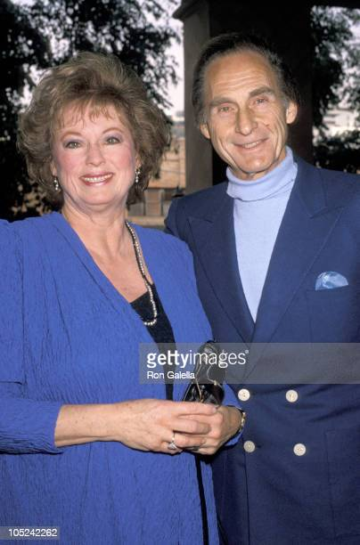 Sid Caesar and wife during The Fund for Animals 3rd Annual Genesis Awards at La Bel Age Hotel in West Hollywood California United States