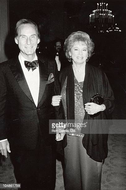 Sid Caesar and wife Florence during Los Angeles Children's Theater Hosts a Spring Garden Party Benefit in Bel Air California United States