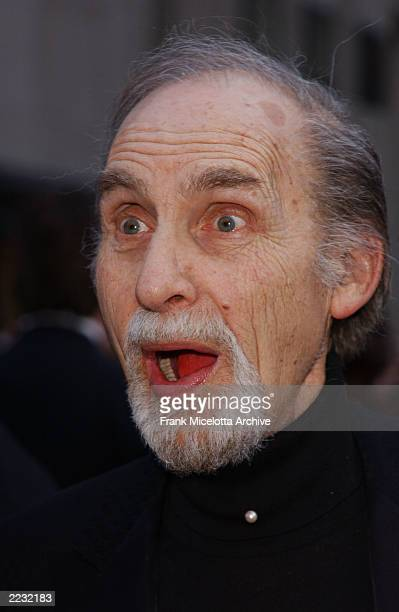 Sid Caesar arrives for the NBC 75th Anniversary celebration taking place live in Studio 8H in Rockefeller Center in New York City May 5 2002 Photo by...