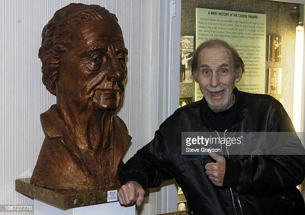 Sid Caesar during Renee Taylor's OneWoman Stage Portrait An Evening With Golda Meir Premiere Engagement at The Canon Theater in Beverly Hills...