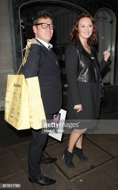 Sid Owen and Charlie Brooks attend the Radio Times Covers Party at Claridges Hotel on January 29 2013 in London England