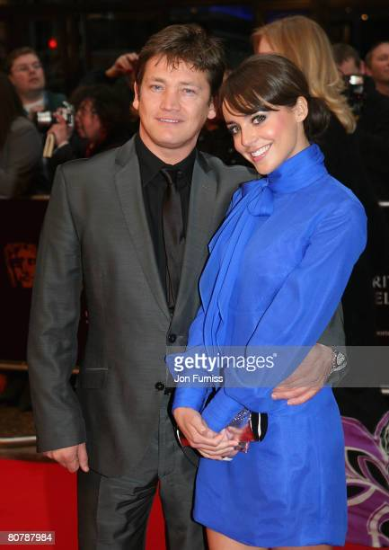 Sid Owen and guest attends the British Academy Television Awards 2008 held at The Palladium Theatre on April 20 2008 in London England